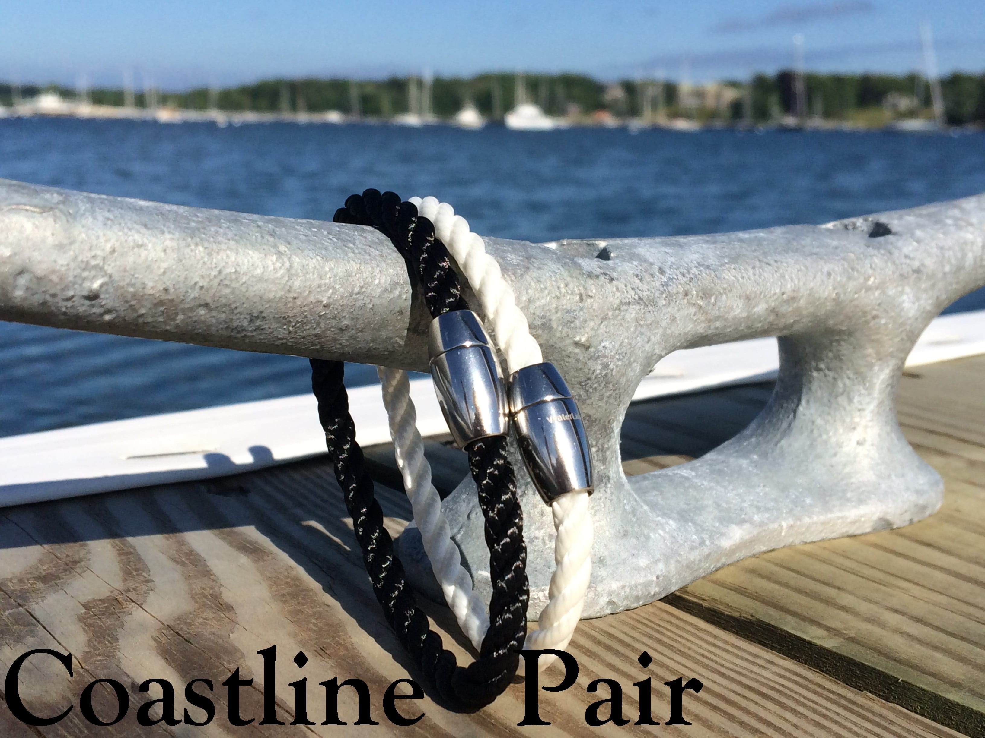 WaterLine Coastline Pair Bracelets